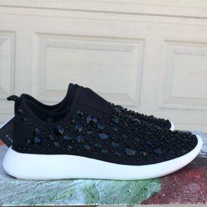 Zara jeweled tennis shoes